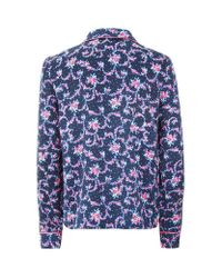 Juicy Couture | Blue Rose Pyjama Top | Lyst