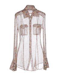Roberta Scarpa - Natural Shirt - Lyst