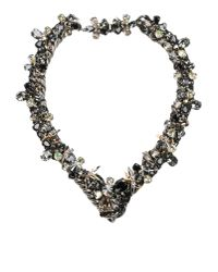 Vickisarge | Metallic Necklace | Lyst