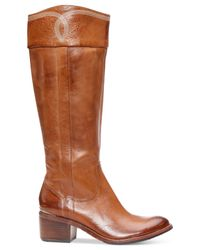 Donald J Pliner | Brown Donald J Pliner Willi Western Boots | Lyst