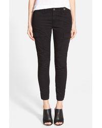 Hudson Jeans | Black 'rowan' Slouchy Cargo Pants | Lyst