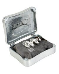 Robert Lee Morris | Metallic Twisted Pendant Necklace In Keepsake Box | Lyst