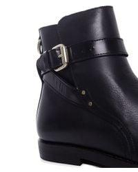 H by Hudson | Black Quartz Ankle Boots | Lyst