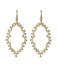 Asha   Metallic Sofia Earrings   Lyst