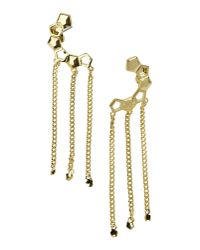 Eddie Borgo - Metallic Earrings - Lyst