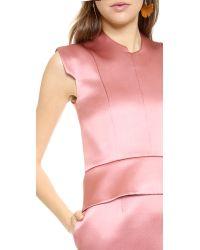 Ellery Pink Song Boxy Shift Dress