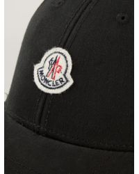 1bf1cd41fe0 Lyst - Moncler Classic Baseball Cap in Black for Men