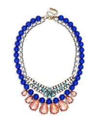 BaubleBar | Blue Buckingham Layered Necklace | Lyst