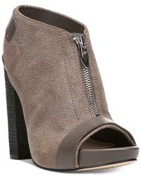 Fergie | Gray Rowley Peep-toe Booties | Lyst