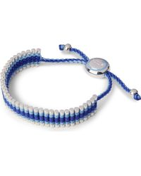 Links of London | Friendship Bracelet Blue | Lyst