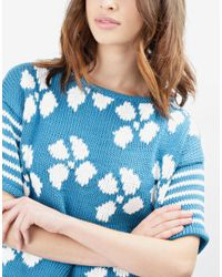 Wool And The Gang | Blue Hot Stuff Top | Lyst