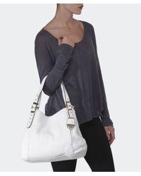 MICHAEL Michael Kors | White Bowery Large Shopper Bag | Lyst
