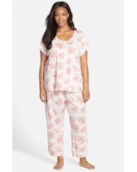 Carole Hochman | Pink Capri Pajamas | Lyst