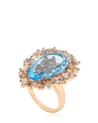 Suzanne Kalan | Blue Vitrine Ring | Lyst