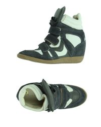 Lemarè - Gray High-tops & Trainers - Lyst