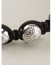 Shamballa Jewels Black 18k Gold Diamond Bracelet for men