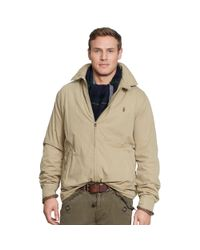 Ralph Lauren | Natural Cotton Landon Windbreaker for Men | Lyst