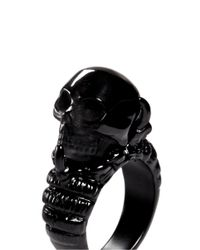 Alexander McQueen | Black Claw And Skull Ring for Men | Lyst