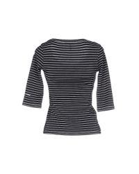 Roccobarocco - Black T-shirt - Lyst