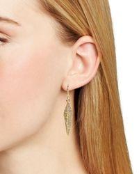 Melinda Maria | Metallic Nori Pavé Earrings | Lyst