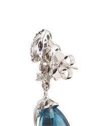 Anabela Chan - 'blueberry' 18k White Gold Topaz Briolette Drop Earrings - Lyst