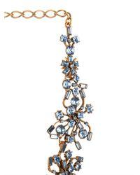 Oscar de la Renta - Metallic Firework Crystal Necklace - Lyst