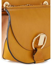 Chloé Yellow Goldie Small Leather Cross-Body Bag