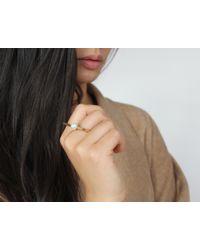 Jenny Bird - Metallic Maigret Ring - Size 7 - Lyst