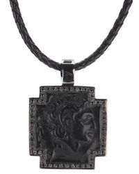 Gavello - Black 'Great Alexander' Pendant Necklace for Men - Lyst