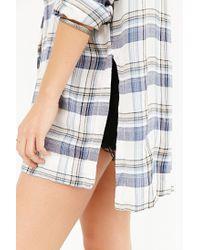 BDG - Natural Logan Button-down Shirt - Lyst