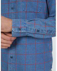 Faherty Brand Blue Everyday Shirt for men