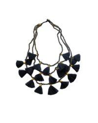 Bluma Project - Black Women's Gia Necklace - Lyst