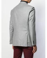 メンズ BOSS テーラードジャケット Gray