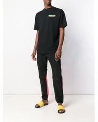 Palm Angels T-shirt Met Logoprint in het Black voor heren