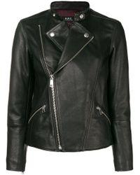 A.P.C. Black Biker Jacket