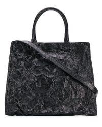 Zilla Black Big Trapezio Bag