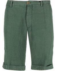 Шорты-бермуды С Подворотами Etro для него, цвет: Green