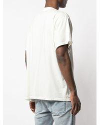 メンズ Amiri Smoke Tシャツ White