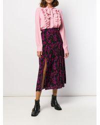 Vivetta ラッフルトリム シャツ Pink