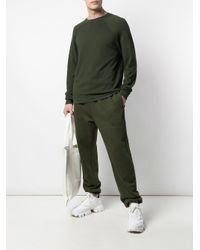 メンズ Les Tien ラグランスリーブ スウェットシャツ Green