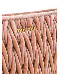 Miu Miu マテラッセ クラッチバッグ Multicolor