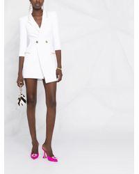 Elisabetta Franchi ダブルブレスト ドレス White