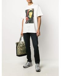 Camiseta Tokyo Ih Nom Uh Nit de hombre de color White