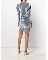 Alexandre Vauthier シャーリング ドレス Multicolor