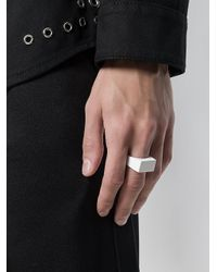 Valentino - White Garavani Bird Ring - Lyst