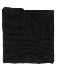 Sciarpa intrecciata di Y-3 in Black