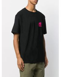 Stussy T-Shirt mit Logo-Print in Black für Herren