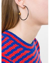 Maria Black | Metallic 'orion' Maxi Hoop Earring | Lyst