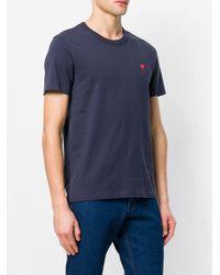 メンズ AMI Ami De Coeur Tシャツ Blue