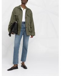 Totême  Green Jacke im Military-Look